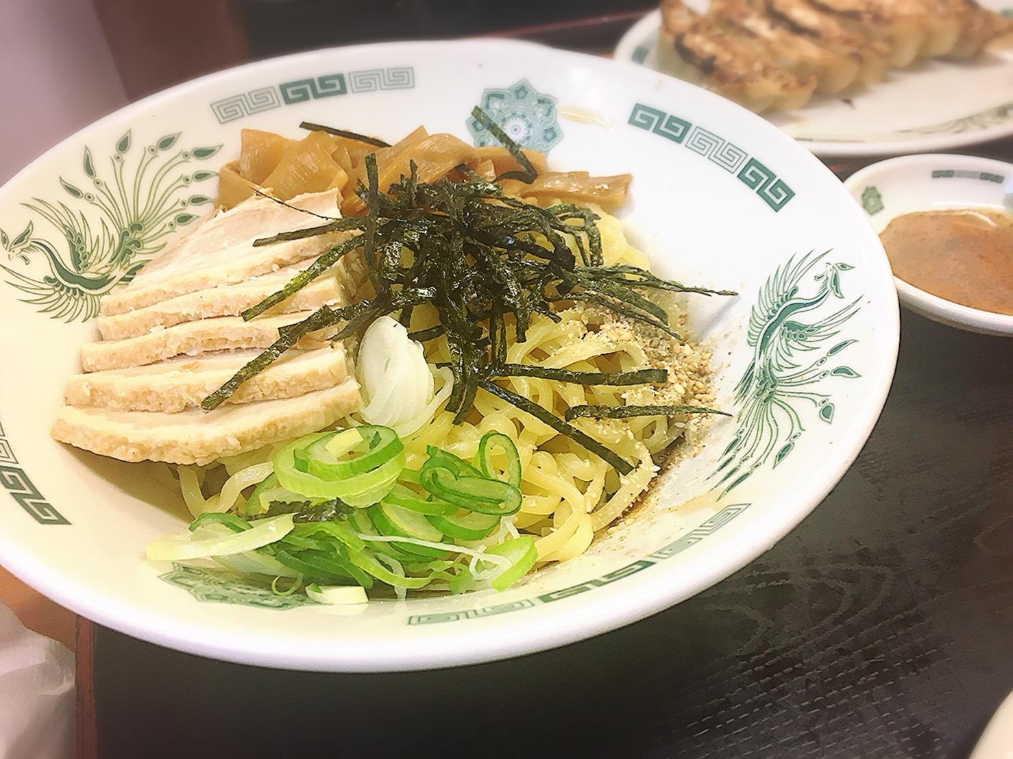 日高屋 大塚南口店の汁なしラーメン(油そば)