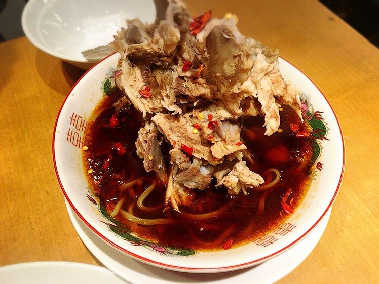 「富士ノ山食堂」の骨肉山麺
