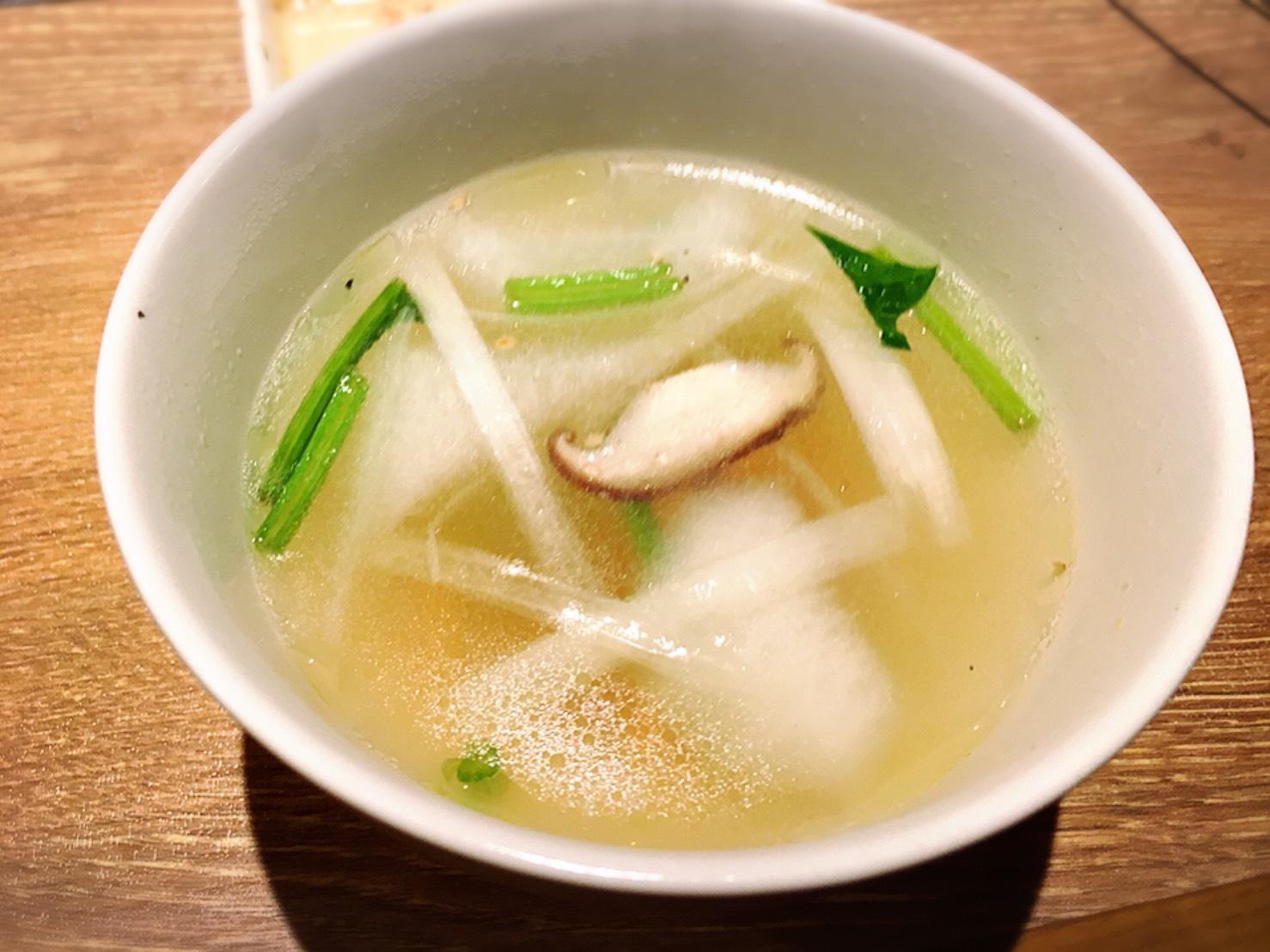 【池袋駅】ランチ1,980円で食べ放題やみつき!「焼肉叙庵」の野菜スープ