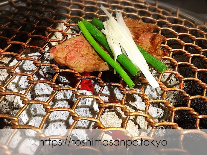【大塚駅】A5ランク黒毛和牛コスパ良し!「頂きまんもす」で超絶美味しいラムしゃぶを頂きまんもす。のラムしゃぶ焼き
