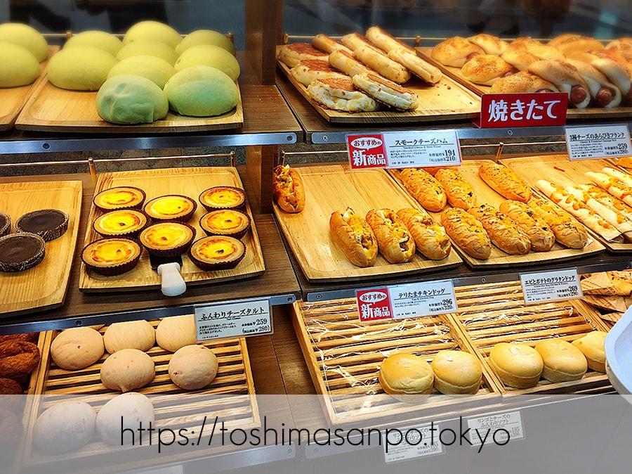 【池袋駅】毎日食べたい!「ヴィ・ド・フランス」のパン超愛してる!ヴィ・ド・フランス池袋店のパンの陳列2