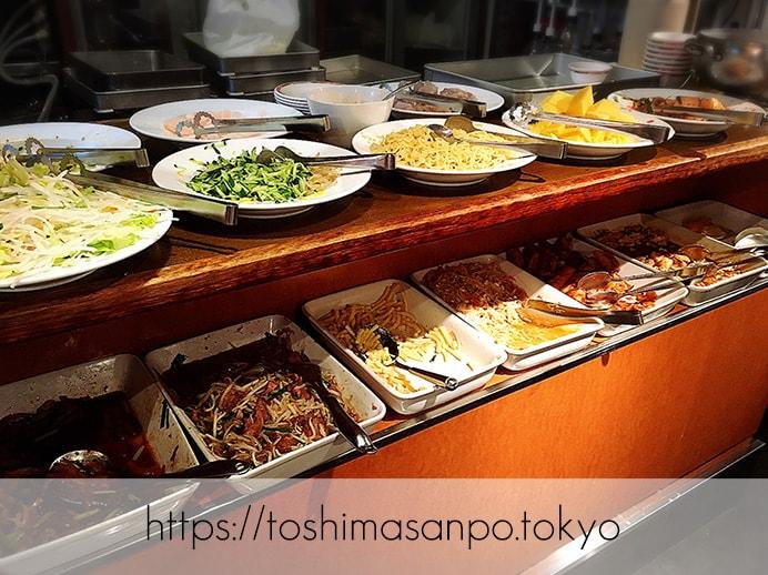【池袋駅】池袋駅周辺の最安ビュッフェ!台湾料理・中華料理を大量摂取するには「台北夜市 池袋本店」のビュッフェ3