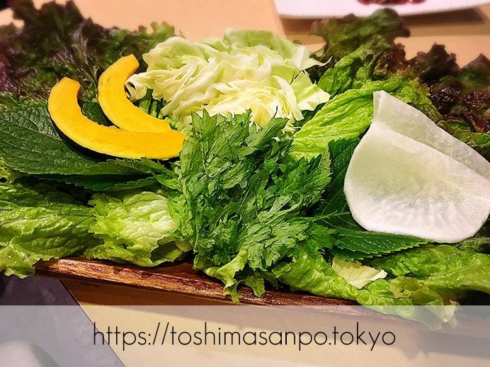 【新宿駅】なにこの初体験チーズキムチチヂミ!極上お肉も激安激うま!牛タンなど激人気店「韓感」のサンチュセット