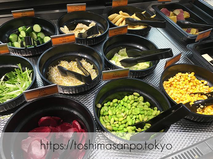 【大塚駅】新鮮野菜やデリサラダが最高。世界5ヶ国で愛されるビュッフェ「シズラー(Sizzler)」のサラダバー2